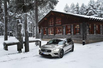 V60 on veljiensä kaltainen –Minimalistinen design on edelleen Volvon ominaispiirre