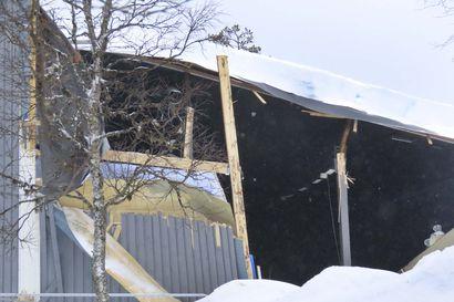 Saariselän Angry Birds -aktiviteettipuiston seinä ja katto romahtivat – alue eristetty lisävahinkojen välttämiseksi