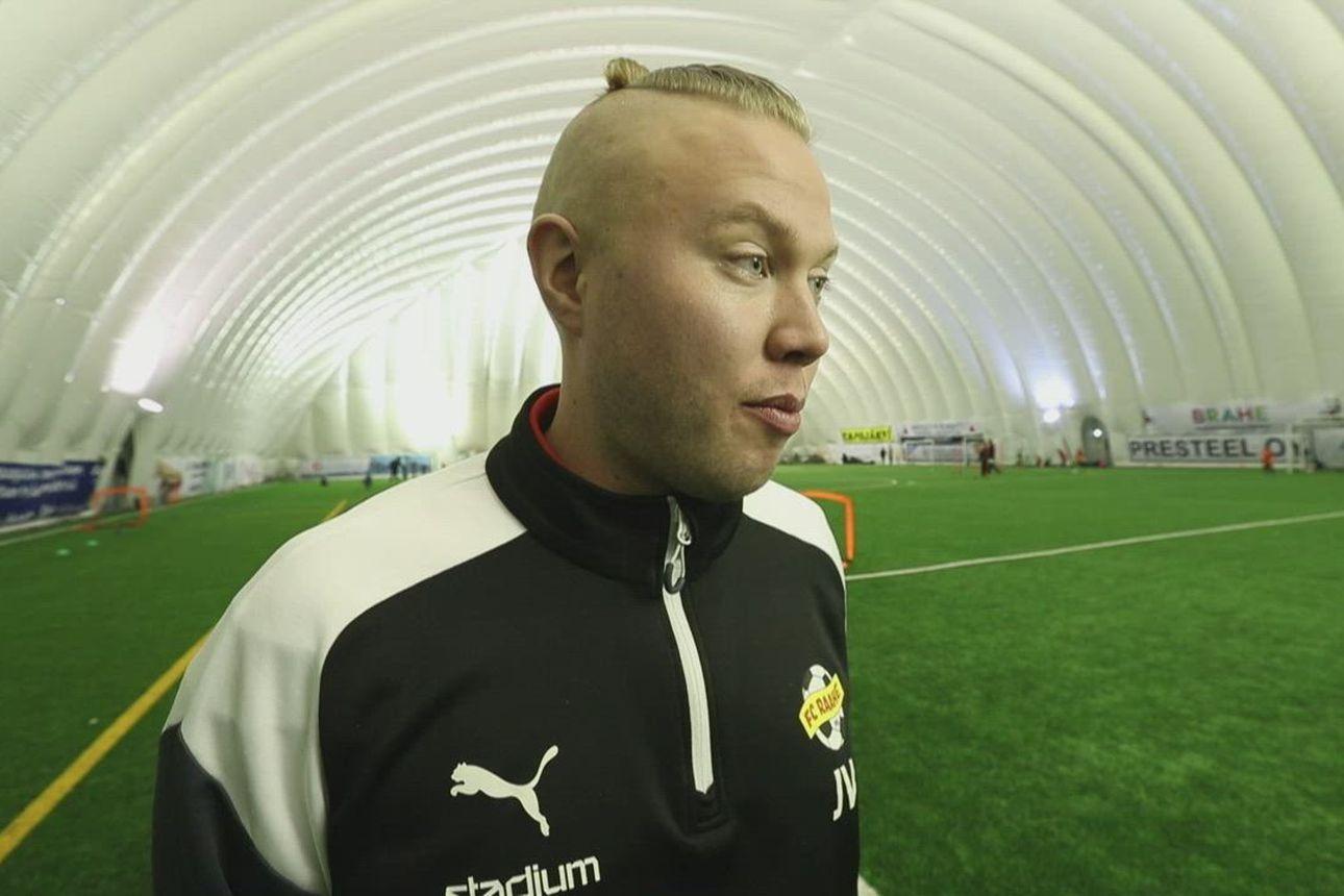 FC-Raahen uusi puheenjohtaja Jani Verkasalo