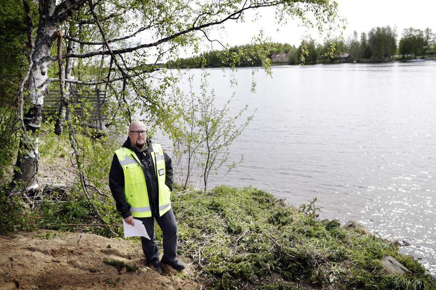 Heikki Pulkkinen sanoo olevansa enemmän puu- kuin kukkaihminen.