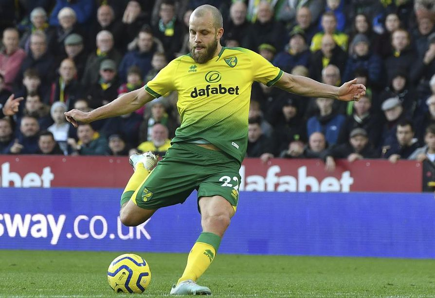 Norwichin Teemu Pukin maalivire oli kateissa jalkapallon Englannin Valioliigan ottelussa Sheffield Unitedia vastaan.