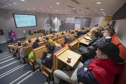 KAMK:n korkeakouluopinnot käynnistyivät Raahessa tänään