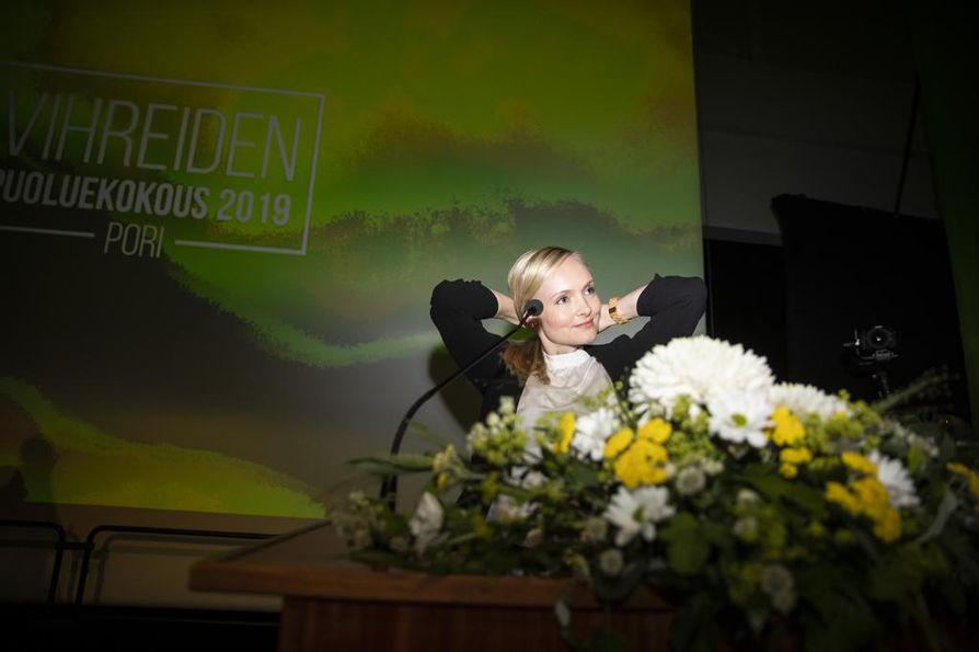 Vihreiden uusi puheenjohtaja ja sisäministeri Maria Ohisalo on varautunut siihen, että uusissa asemissa eteen voi tulla kaikenlaista.