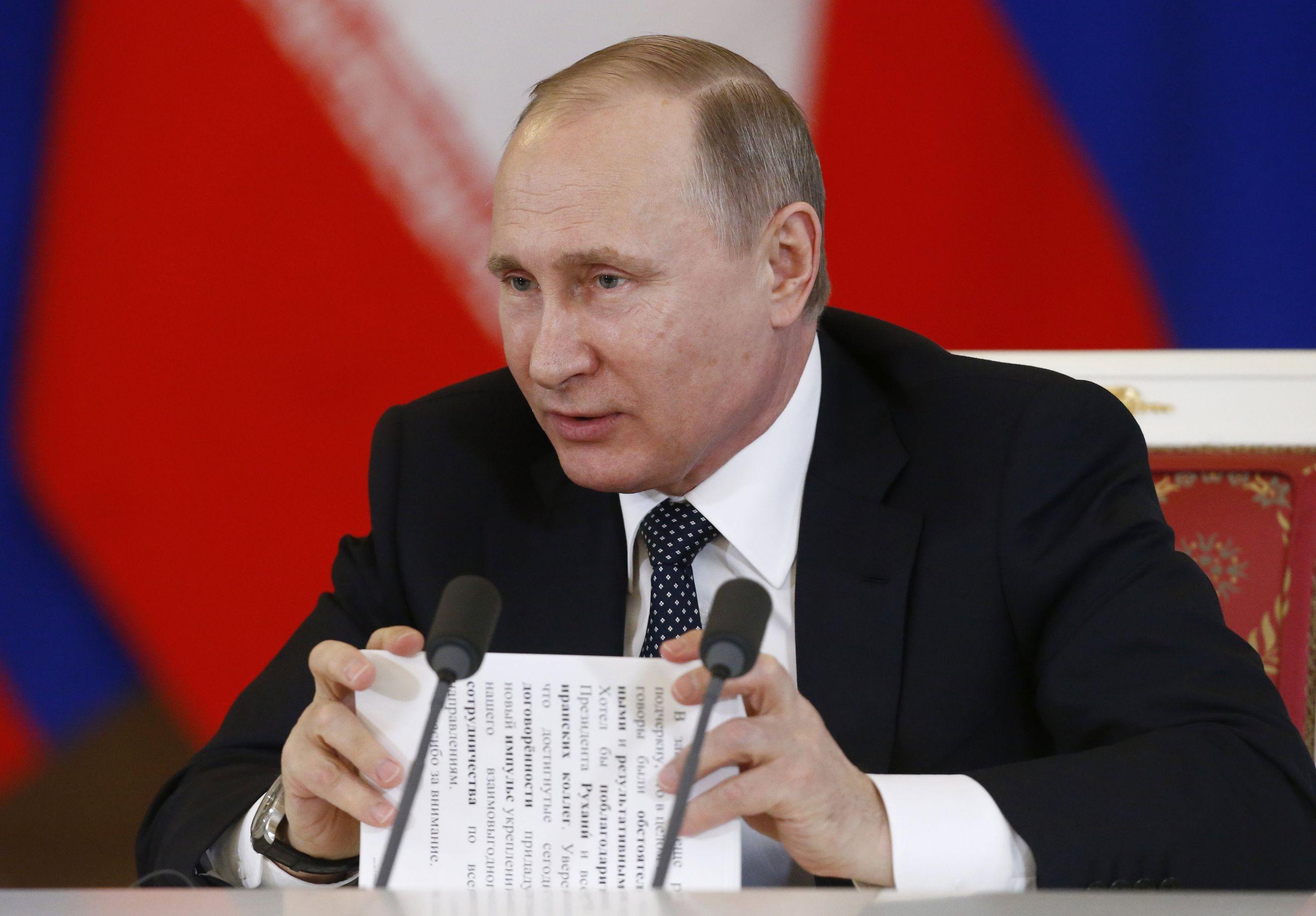 Putin Suomessa