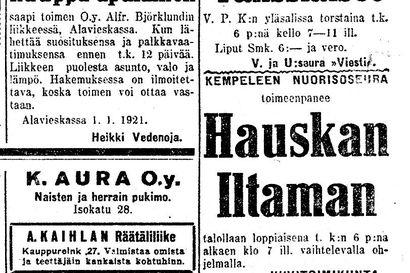 Vanha Kaleva: Presidentti tapasi lukuisia vieraita uutena vuotena, maivakilo jo kahdeksan markkaa