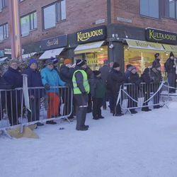 Arctic Lapland Rally 2020 lähtötunnelmia