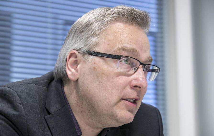 Kaupallinen johtaja Janne Suhonen.