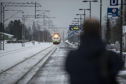 Junaliikenteessä ennätysvuosi, Lapin junissa eivät paikat aina riitä