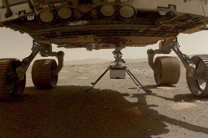 Nasan Mars-minihelikopteri on pudotettu punaisen planeetan pinnalle – nyt sen pitää selvitä hyytävistä öistä itse