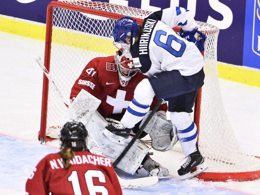 Jenni Hiirikoski on yksi odotetuista valinnoista Suomen joukkueeseen.