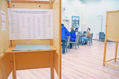 Pudasjärven äänestyspaikat päätettiin toistamiseen – kuntavaaleissa ennakkoon voi äänestää kahden viikon aikana