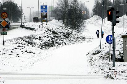 Rovaniemelle turhia liikennemerkkejä 300000 eurolla? –Kuntaliitto haluaa, että pyörätiet oletetaan jatkossakin kaksisuuntaisiksi
