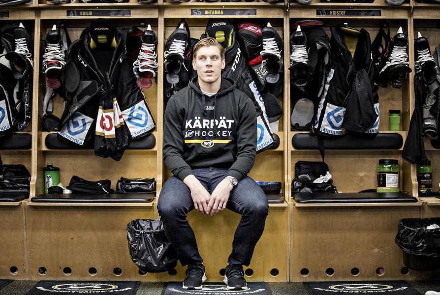 Kärppien kapteeni Atte Ohtamaa palasi KHL-kaukaloista kotimaan pääsarjaan.