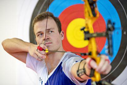 Perheen olympiataival jatkuu, Antti Vikström ampui olympiapaikan Tokioon