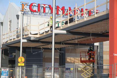 Kemin Citymarketin katos uusiksi