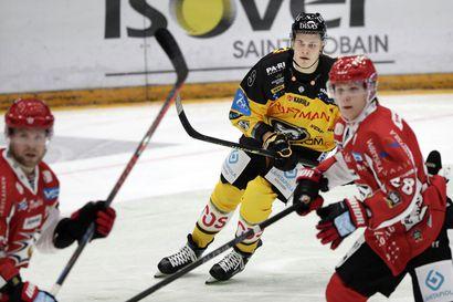 """Kärppien paluumuuttajat Puljujärvi ja Pesonen osuivat Sportin verkkoon – """"Jesse tarjoili suoraan lapaan"""""""