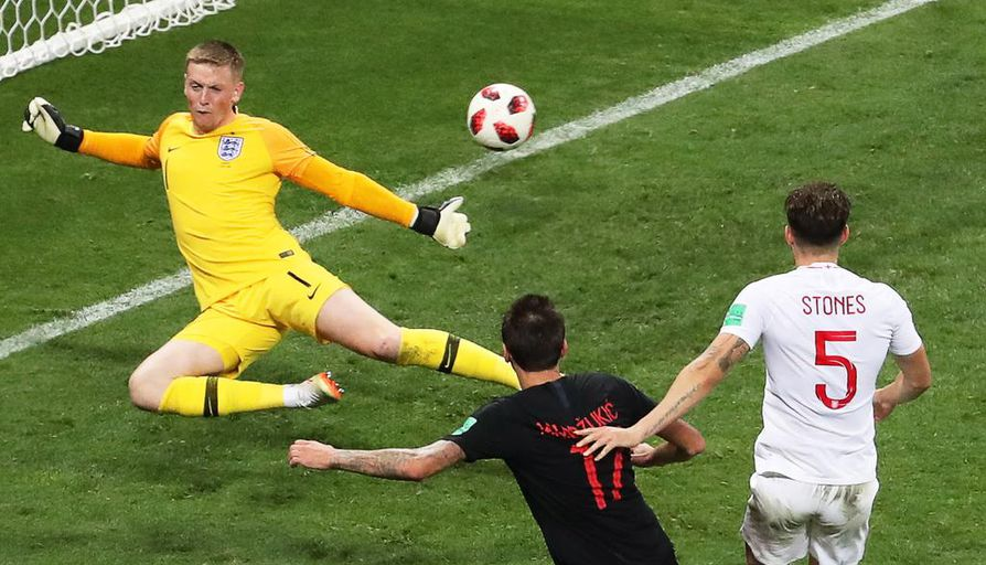 Mario Mandzukicin maali ratkaisi pelin ja vei Kroatian loppuotteluun,