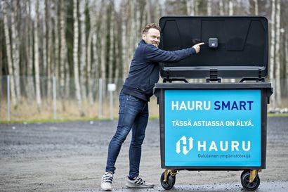 Älykkäät jäteastiat otetaan pian käyttöön Oulussa – jätteen määrästä saadaan ajankohtaista tietoa pienen anturin avulla