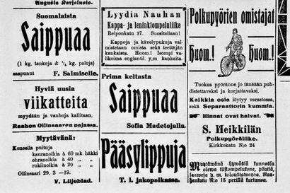 Sata vuotta sitten: Raahen päiwää juhlittiin Palokunnantalolla