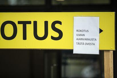 Walk In -rokotuspäiviä Raahessa ja Pyhäjoella