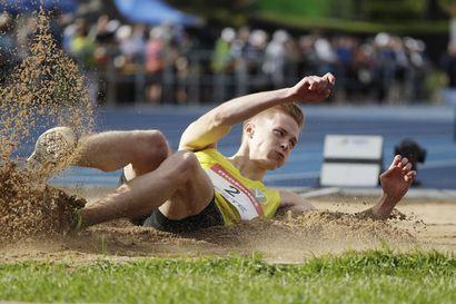 Kristian Pulli teki pituushypyn Suomen ennätyksen, rikkoi Tommi Evilän vanhan ennätyksen viidellä sentillä