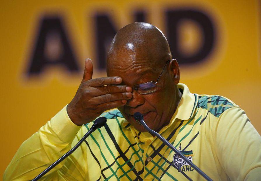 Presidentti Jacob Zuman aika valtionjohtajana alkaa olla lopussa.