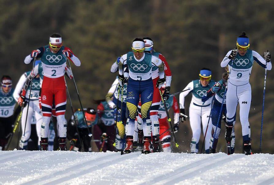 Maastohiihtäjät ampaisevat jälleen ladulle Pyeongchangin olympialaisissa tiistaina.