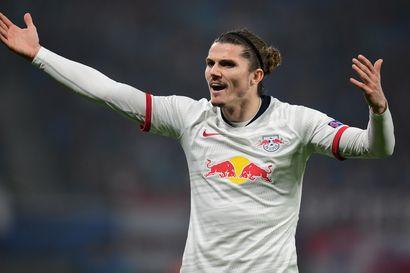 Sabitzer laukoi häikäisevän osuman Leipzigille, vaihtomies ratkaisi Chelsealle