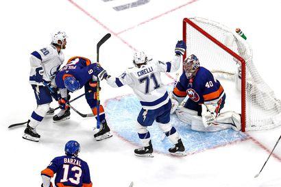 Tampa Bay Lightning NHL:n loppuotteluihin Dallas Starsia vastaan