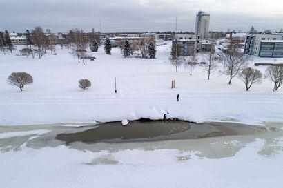 Hulevesimääräys tuli Raahen Vedelle täytenä yllätyksenä - Pikkulahteen ei saa laskea puhdistamattomia sade- ja sulamisvesiä