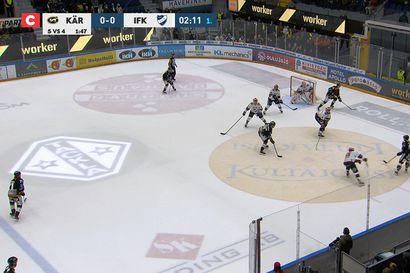 Kärpät–HIFK-ottelun maalikooste