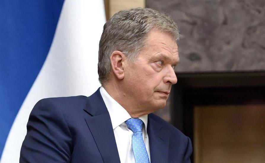 Presidentti Sauli Niinistö vierailee Moskovassa.