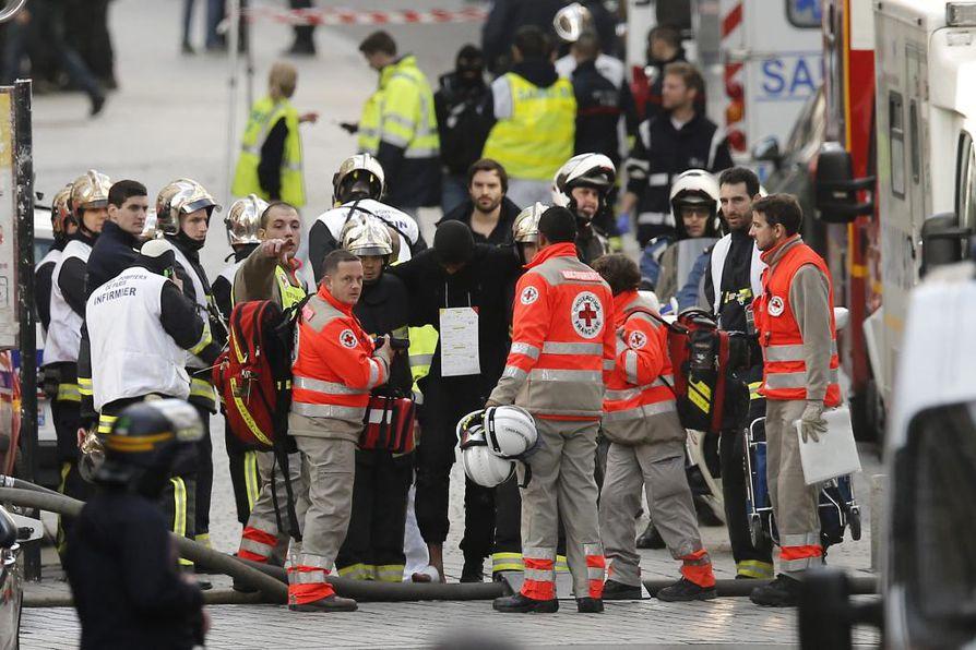 Pariisin iskuihin yhdistetty mies on saanut USA:n mukaan surmansa. Arkistokuva.
