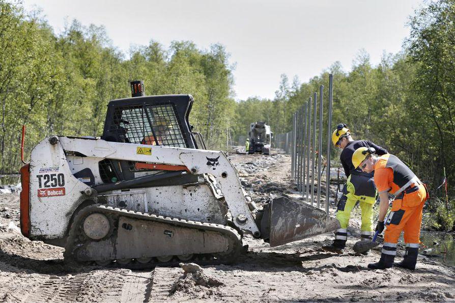 Fennovoiman rakennustöiden lupa-asiat ovat kunnossa Pyhäjoen Hanhikivellä.
