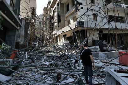 Räjähdyksen repimään Beirutiin julistettiin kahden viikon poikkeustila