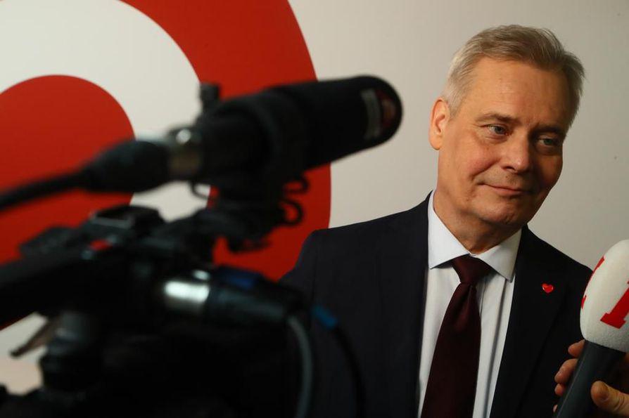 Antti Rinteen tavoitteena on saada hallituspohja aikaiseksi vapun jälkeen.