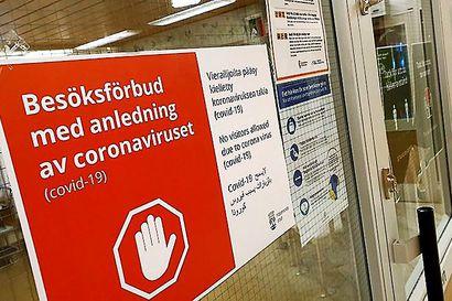 Vanhusten erityisasumista koskeva vierailukielto jatkuu Haaparannalla – Alueen koronatilanne on edelleen vaikea