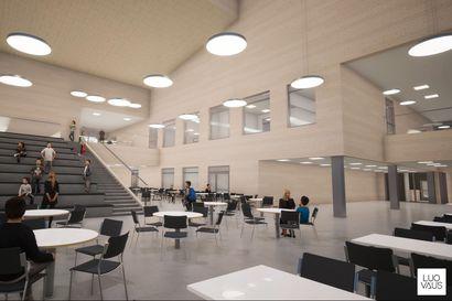 Nilonkankaan koulun rakentaminen käynnistyy: Kuusamon lähihistorian suurimman uudisrakennushankkeen kokonaiskustannukset ovat 19 miljoonaa euroa – Katso video, joka näyttää koulun ulkoa ja sisältä