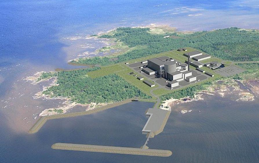 Pyhäjoen Hanhikivenniemelle suunnitellaan venäläisen Rosatomin ydinvoimalaa.