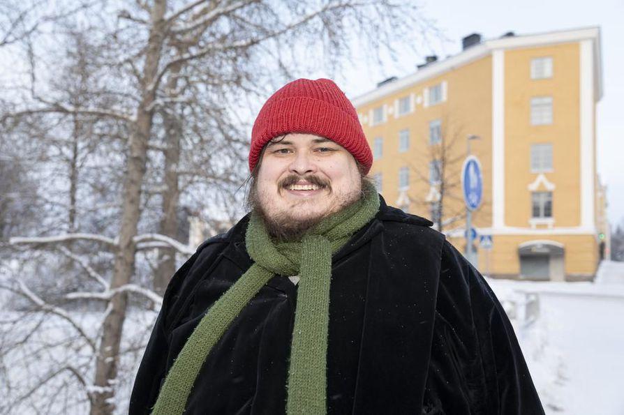 Kaltion päätoimittaja Paavo J. Heinonen. Arkistokuva.