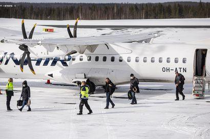 Finnair vaihtoi Lapin koneet pienempiin – Kansanedustaja Johanna Ojala-Niemelä oli tiistaina ainoa matkustaja lennolla Rovaniemeltä Helsinkiin