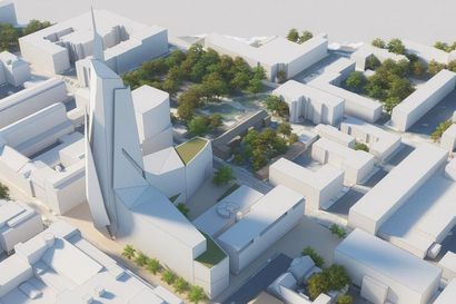 Oulunkin keskustaan suunnitellaan tornihotellia, jää kerrosmäärässä Rovaniemen hankkeesta