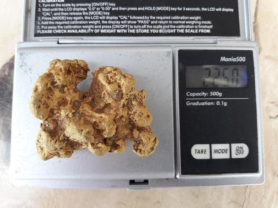 Hippu painaa reilusti yli 200 grammaa.