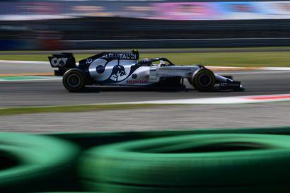 Pierre Gasly yllätti Monzan formulakisassa