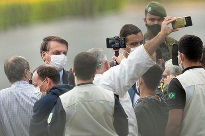 Brasiliasta toinen maa Yhdysvaltain jälkeen, jossa on kirjattu yli 50000 covid-19-kuolemaa