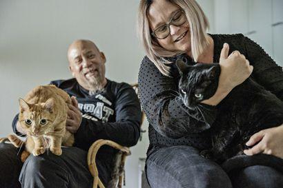 Kalifornia vaihtui Ouluun –ilmakitarafani Kurt Brown treenaa nyt vaimonsa Mari Marjamaan kotiseudulla