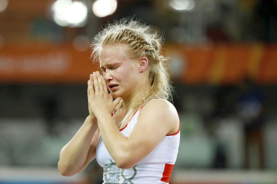 Olli hävisi molemmat kamppailunsa Rooman EM-kisoissa. Arkistokuva.