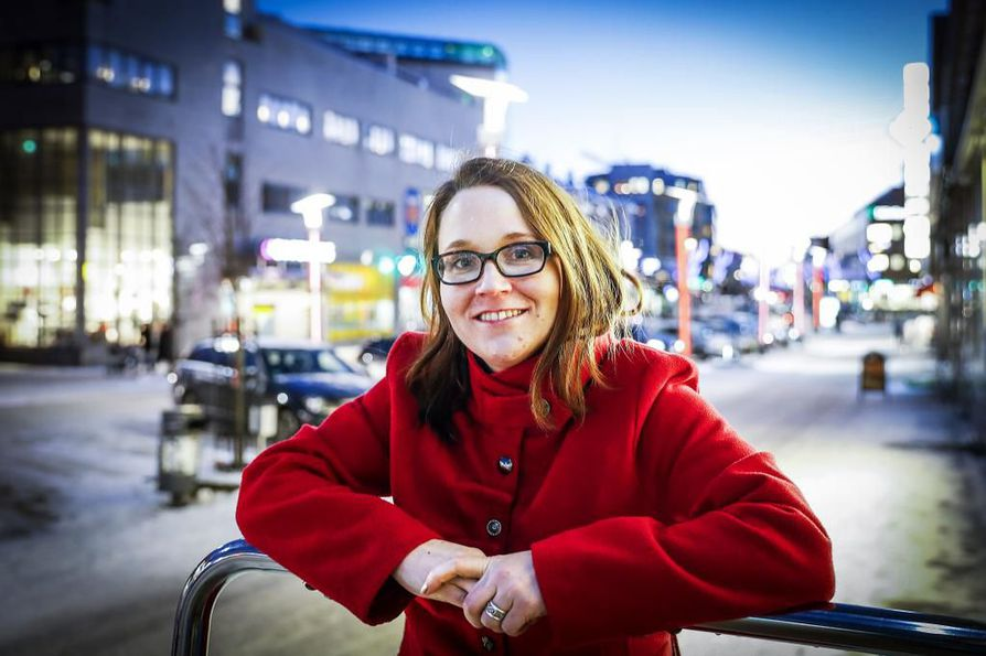 Heidi Alarieston yritys on erikoistunut teini-ikäisten nuorten työllistämiseen.