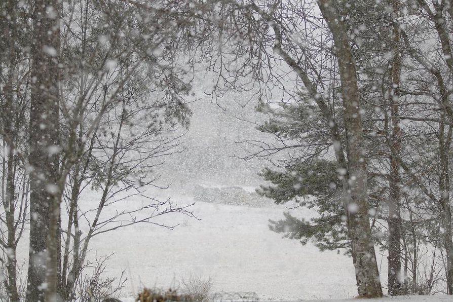 Talvi saapui tänä vuonna etujassa Pohjois-Suomeen.