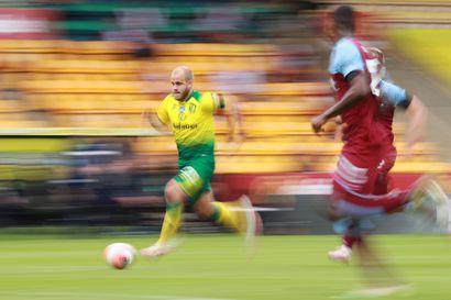 Teemu Pukin Norwichin putoaminen Valioliigasta varmistui tylysti – West Ham vei liigajumboa 0–4-lukemin